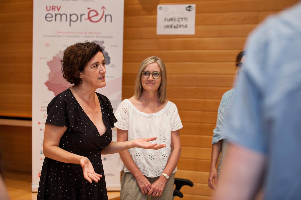 URV Emprèn Dimarts emprenedor a Tarragona amb Ana González Tadeo