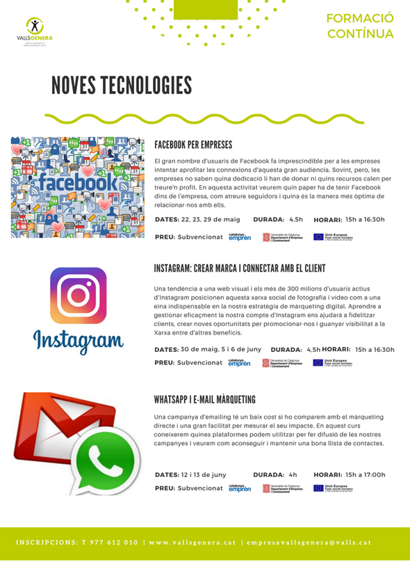 CursosNovesTecnologies Instagram Whatsapp i email marketing
