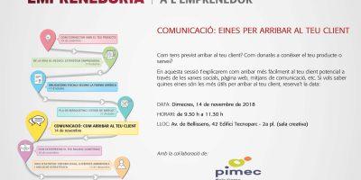 Sessió COMUNICACIÓ: Eines per arribar al teu client 5a_sessio urv empren