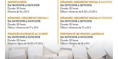 curs nomines i seguritat social calafell francès