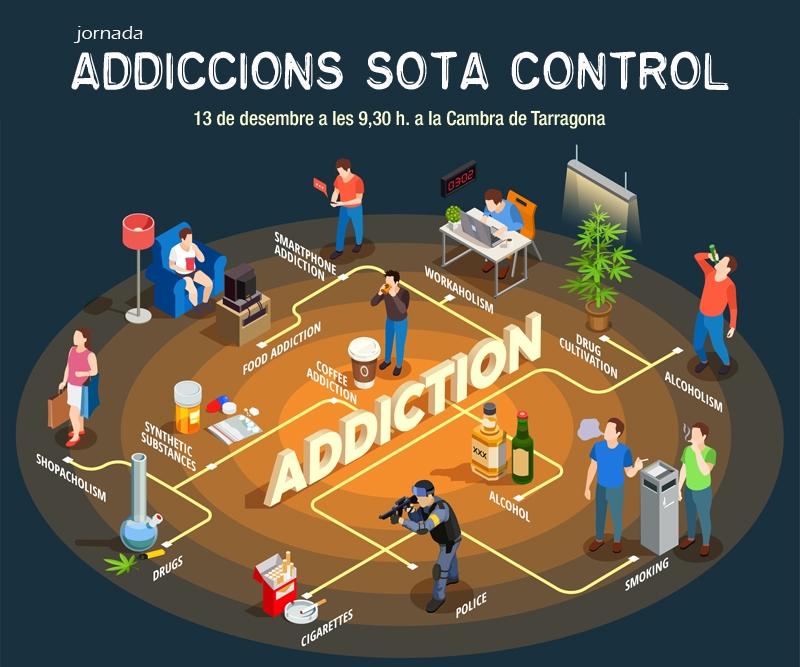 """Jornada: """"Addiccions sota control"""""""